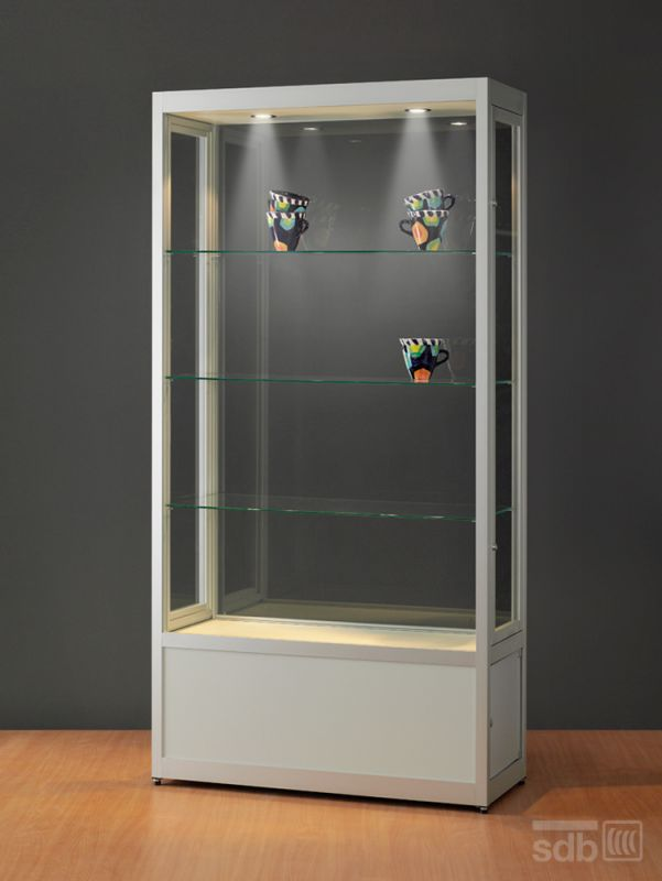 sv1000a7hsu vitrinenshop liefert vitrinen in indus. Black Bedroom Furniture Sets. Home Design Ideas