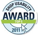 Vitrinenshop.de Shop Usability Award 2011