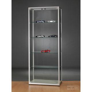 vitrine 80 cm breit glasvitrinen alu vitrinen g nstig. Black Bedroom Furniture Sets. Home Design Ideas