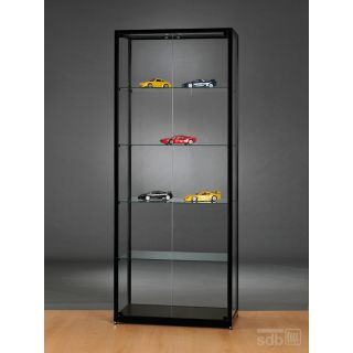 vitrine 80 cm breit glasvitrinen alu. Black Bedroom Furniture Sets. Home Design Ideas