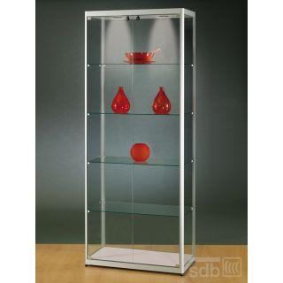 vitrinen mit beleuchtung glasvitrinen alu vitrinen. Black Bedroom Furniture Sets. Home Design Ideas
