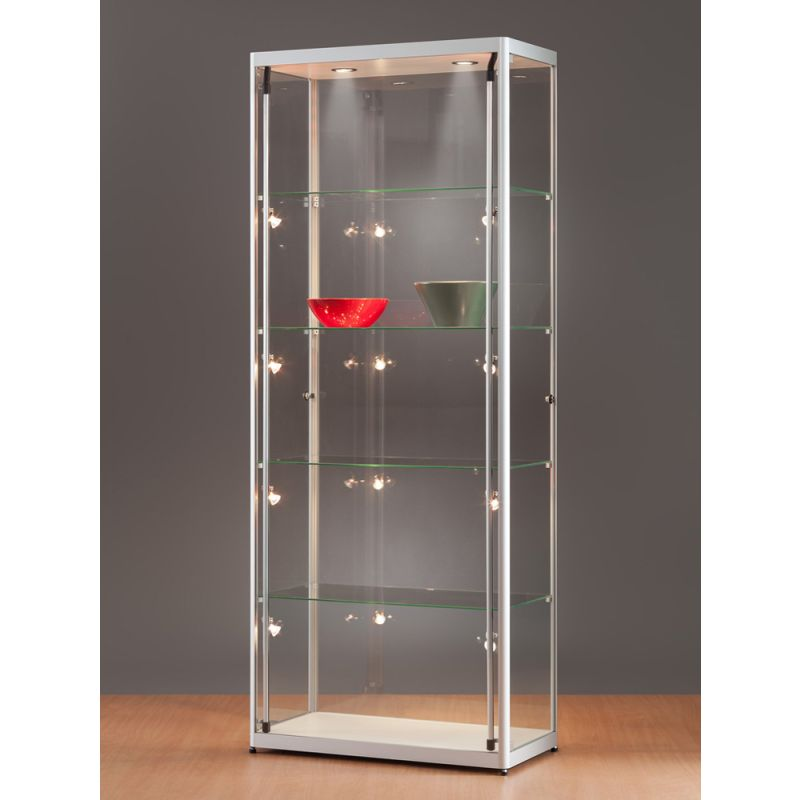 glas beleuchtet free glasvitrine vitrine led beleuchtung. Black Bedroom Furniture Sets. Home Design Ideas