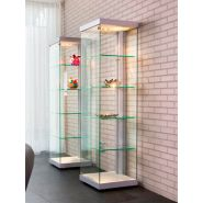 VIA-L600A7 Design Vitrine Glasboden Beleuchtung mit LED...