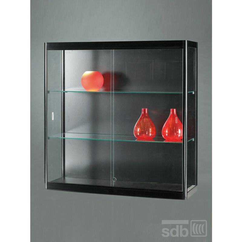 h ngevitrine schwarz beleuchtet glasvitrinen alu vitrinen g nstig. Black Bedroom Furniture Sets. Home Design Ideas