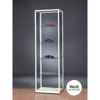 vitrine wei 60 cm breit glasvitrinen alu vitrinen g nstig. Black Bedroom Furniture Sets. Home Design Ideas