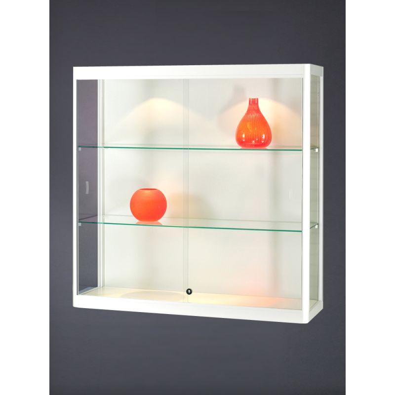 h ngevitrine wei mit beleuchtung glasvitrinen alu vitrinen g nstig. Black Bedroom Furniture Sets. Home Design Ideas