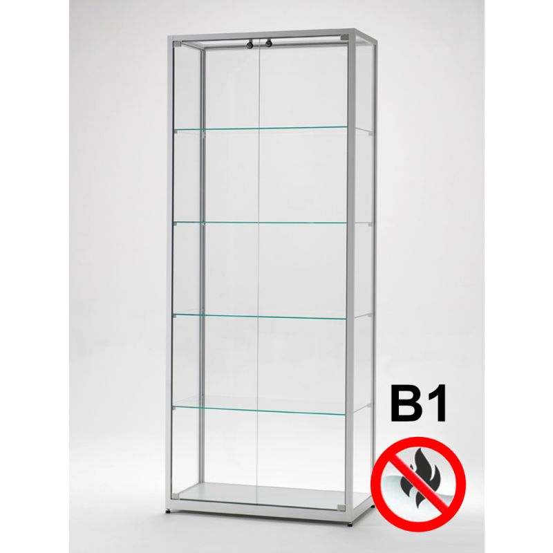schulvitrine 80 cm breit glasvitrinen. Black Bedroom Furniture Sets. Home Design Ideas